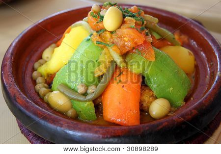 TAJINE MARROQUINA