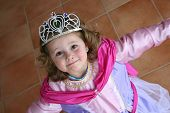 foto of princess crown  - the little princess is looking pretty nice