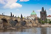 stock photo of bohemia  - Prague city one of the most beautiful city in Europe - JPG