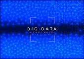 Deep Learning Concept. Digital Technology Abstract Background. Artificial Intelligence And Big Data. poster