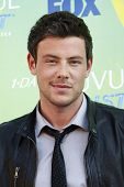 LOS ANGELES - AUG 7: Cory Monteith arrives at the 2011 Teen Choice Awards held at Gibson Amphitheatr