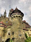 Medieval Castle Kreuzenstein poster