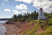 Cape Bear Lighthouse on eastern Price Edward Island, Canada