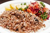 picture of lenten  - buckwheat with vegetables - JPG