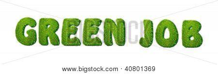 Green Job.