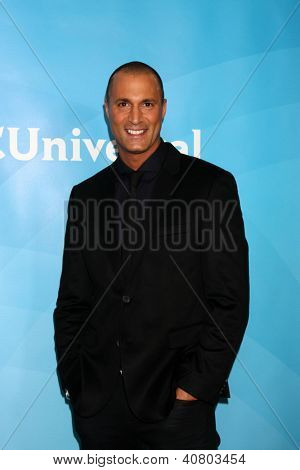 LOS ANGELES - JAN 7:  Nigel Baker attends the NBCUniversal 2013 TCA Winter Press Tour at Langham Huntington Hotel on January 7, 2013 in Pasadena, CA