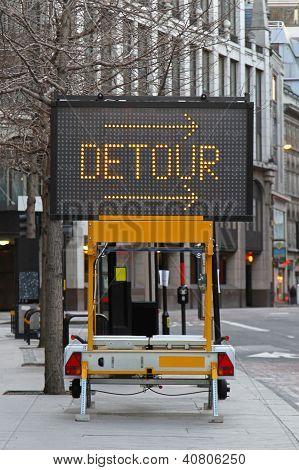 Detour Traffic