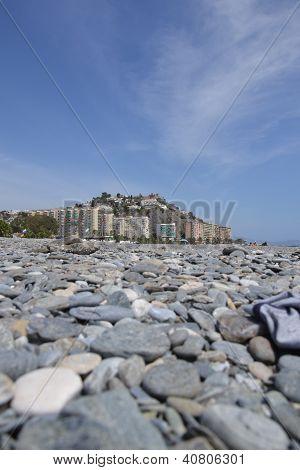 Condominiums on the beach