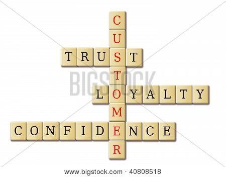 Customer Loyalty Crossword