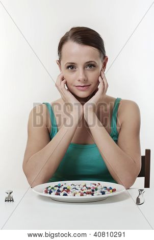 Eating Pills