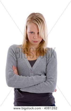 Stubborn Teen