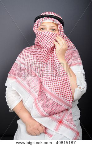 Woman In The Hijab