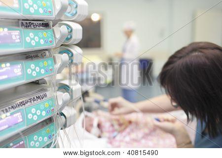 In Pediatric Intensive Care Unit