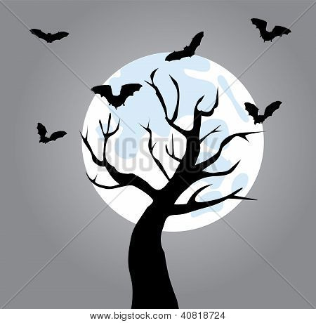 Tree With Bats