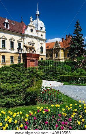 Citihall Of Brasov, Romania