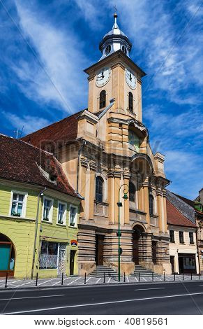 St. Peter And Paul Church In Brasov Old City, Romania