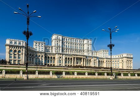 Parliament Of Romania Building, Bucharest