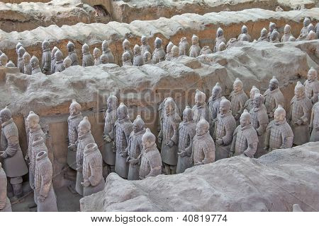 Terra Cotta Warriors Excavation