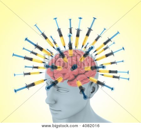 Cérebro de injeção
