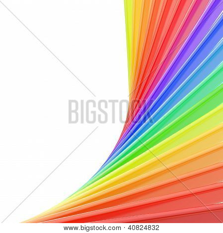 Copyspace Background Of Rainbow Colored Composition