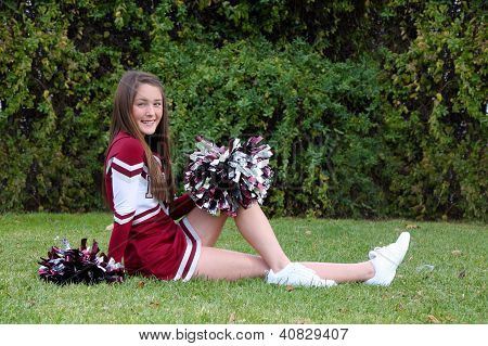 Pretty Cheerleader