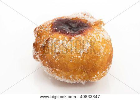 krapfen with jam