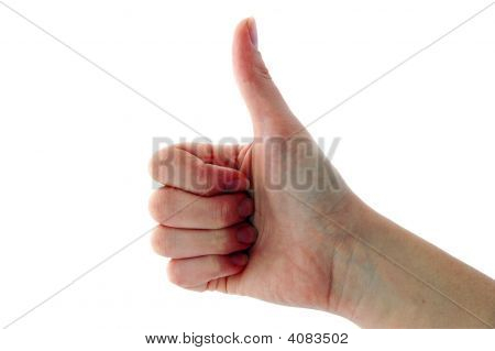 Hand Signal - Thumbs Up