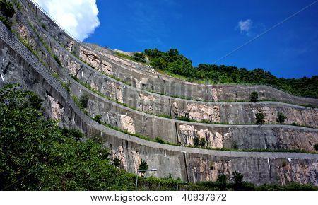 Muro de contenção