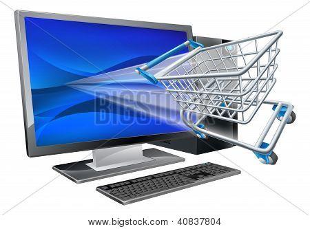 Computer Shopping Concept