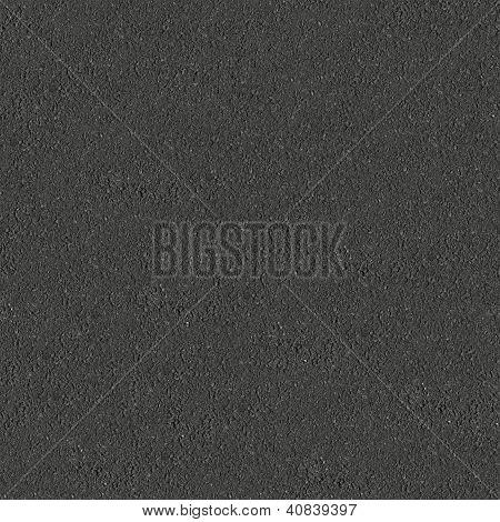 dunkel grau Asphalt nahtlos Kachelbarer Textur.