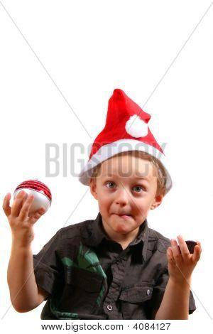Cute Christmas Boy