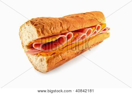 Cheese And Ham Sandwich