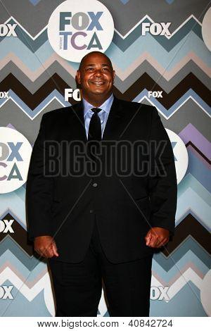 PASADENA, CA - JAN 8:  Kevin Michael Richardson attends the FOX TV 2013 TCA Winter Press Tour at Langham Huntington Hotel on January 8, 2013 in Pasadena, CA