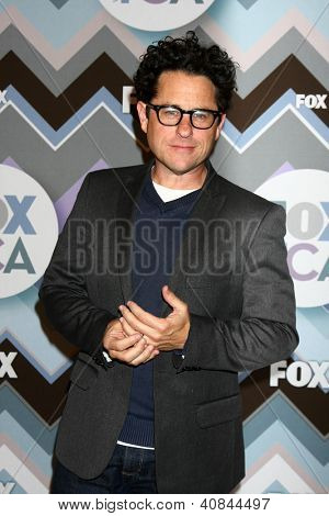 LOS ANGELES - JAN 8:  JJ Abrams attends the FOX TV 2013 TCA Winter Press Tour at Langham Huntington Hotel on January 8, 2013 in Pasadena, CA