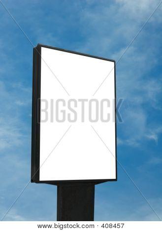 Blank Billboard, fügen Sie einfach Ihren text