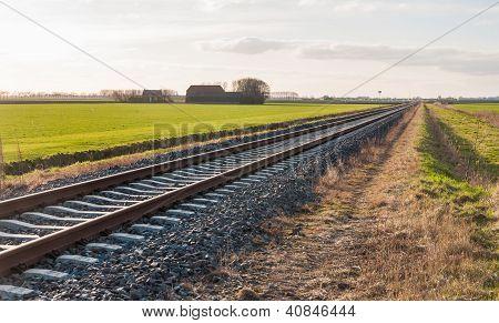Diagonally Railroad