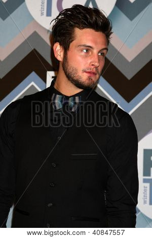 PASADENA, CA - JAN 8:  Nico Tortorella attends the FOX TV 2013 TCA Winter Press Tour at Langham Huntington Hotel on January 8, 2013 in Pasadena, CA