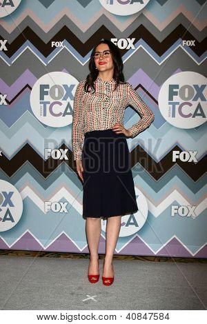 PASADENA, CA - JAN 8:  Shannon Woodward attends the FOX TV 2013 TCA Winter Press Tour at Langham Huntington Hotel on January 8, 2013 in Pasadena, CA