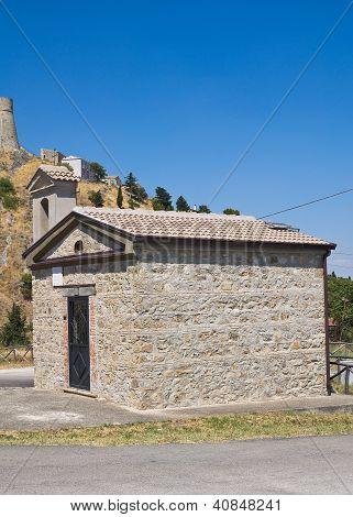 Church of St  Gerardo. Deliceto. Puglia.  Italy.