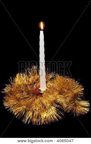 Christmas Burning Candle