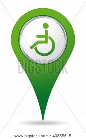 Location Handicap Icon