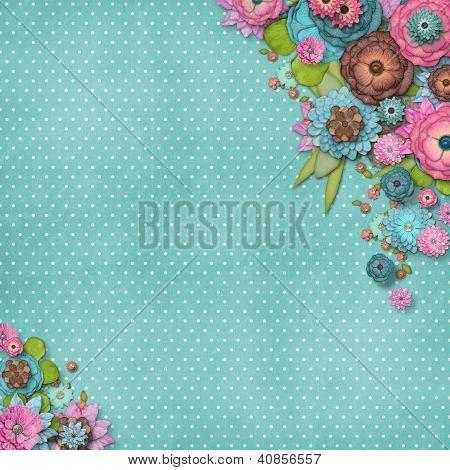 Rahmen der Blumen