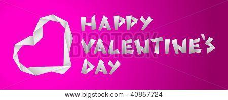 Valentine Paper Heart