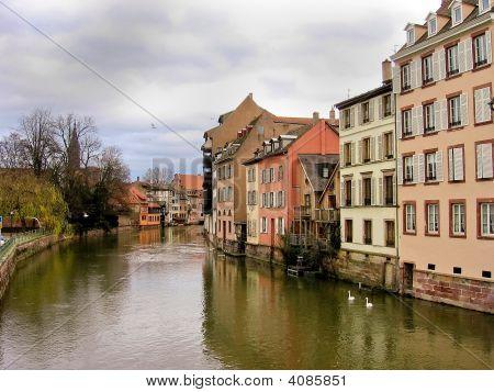 Estrasburgo, en Alsacia, Francia