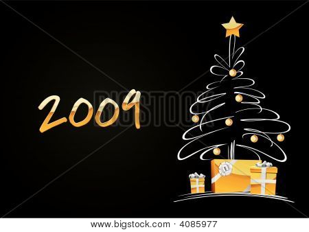 Christmas Tree With Gifts 200...