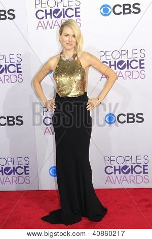 LOS ANGELES - JAN 9: Naomi Watts at the 39th Annual People's Choice Awards at Nokia Theater L.A. Live on January 9, 2013 in Los Angeles, California