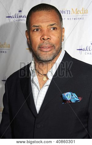 SAN MARINO - JAN 4: Eriq La Salle at the Hallmark Channel '2013 Winter TCA' Press Gala at The Huntington Library on January 4, 2013 in San Marino, California