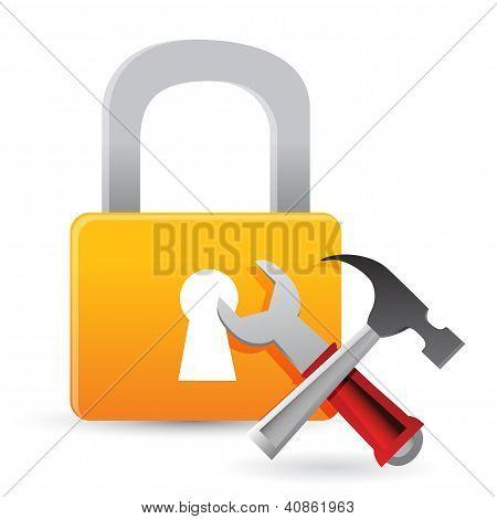 Lock Tools Concept