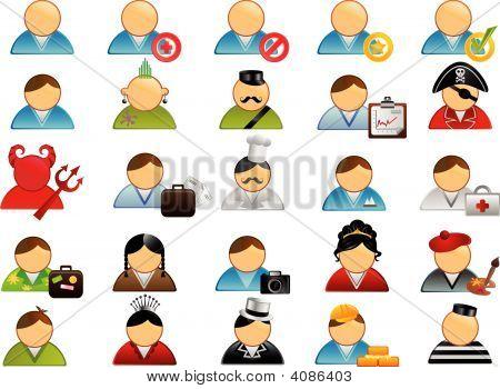 Humanos Icons Set 1