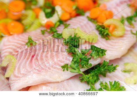 Fillets of fish